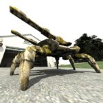 Click to see information about the 'Spider Tank (for Poser)'.