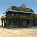 Western Town (for Poser)