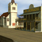 Western Town (for Vue)