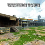 Click to see information about the 'Western Town (for Poser)'.