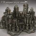 Click to see information about the 'Seven Keepers of Magic (for Vue)'.