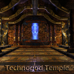 Technogod Temple (for Poser)