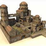 Click to see information about the 'Castle (for Poser)'.