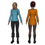 Trailblazer Uniform G2F (for DAZ Studio)