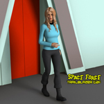 Click to see information about the 'Trailblazer Uniform G2F (for DAZ Studio)'.
