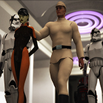 Galactic Officer G2M (for DAZ Studio)