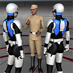 Click to see information about the 'Galactic Officer G2M (for DAZ Studio)'.