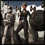 Galactic Officer G2F (for DAZ Studio)