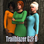 Click to see information about the 'Trailblazer G2F B (for DAZ Studio)'.