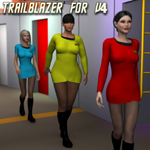 Click to see information about the 'Trailblazer V4 (for Poser)'.