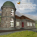 Click to see information about the 'Berkshire Lodge (for Poser)'.