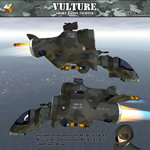 Vulture Short Range Fighter (for Poser)