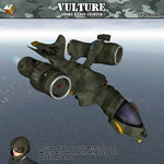 Click to see information about the 'Vulture Short Range Fighter (for Poser)'.