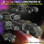 Click to see information about the 'Battle Cruiser Kit (A) (for Poser)'.