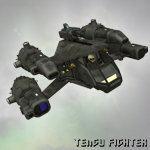 Click to see information about the 'Tengu Fighter Craft (for Poser)'.
