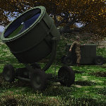 WWII Sperry Searchlight (for Poser)