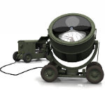 Click to see information about the 'WWII Sperry Searchlight (for Poser)'.
