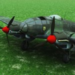 Click to see information about the 'Heinkel HE 111 H2 (for Vue)'.