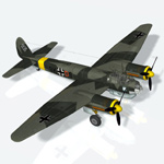 Click to see information about the 'Junkers JU88 A4 (for Poser)'.