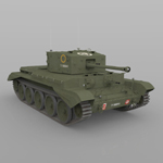 Cromwell MKIV (for Poser)