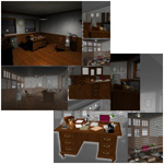 Film Noir Detective Office (for Poser)