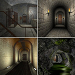 Click to see information about the 'Dark Corridors (for Poser)'.