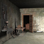 Click to see information about the 'Scarier Basement Dungeon (for Poser)'.