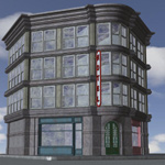 Click to see information about the 'Old Style Building (for Poser)'.