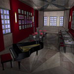 Click to see information about the 'Chic Restaurant (for Poser)'.