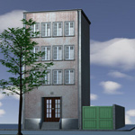 Click to see information about the 'City Building (for Poser)'.