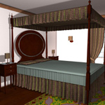 Click to see information about the 'Classic Bedroom (for Poser)'.