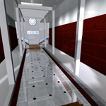 Designer Entrance Hall (for Poser)