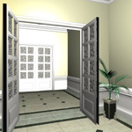 Small Entrance Hall (for Poser)