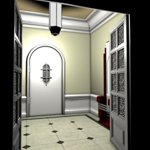 Click to see information about the 'Small Entrance Hall (for Poser)'.