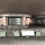 Bauhaus Hotel Lobby (for Vue)