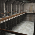 Prison Cell Block (for Vue)