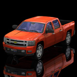 Click to see information about the 'Chevrolet Silverado 2007 (for Poser)'.