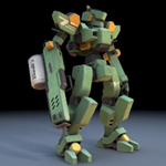 Click to see information about the 'Sentinel Robot Mech (for Poser)'.