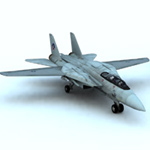 Click to see information about the 'F 14 Tomcat (for Vue)'.