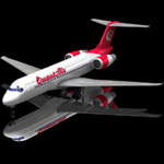 Click to see information about the 'Airliner 717 (for Poser)'.