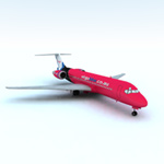 Click to see information about the 'Airliner 717 (for Vue)'.
