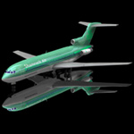 Click to see information about the 'Airliner 727 (for Poser)'.