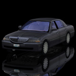 Luxury Sedan Car (for Poser)
