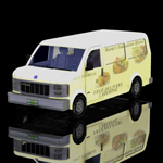 Click to see information about the 'Delivery Van (for Poser)'.