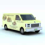 Click to see information about the 'Delivery Van (for Vue)'.