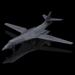 Click to see information about the 'B-1B Bomber (for Poser)'.