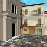Italian Piazza (for Poser)