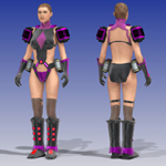 Vilatrix Armor (V4) (for Poser)