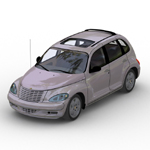 Click to see information about the 'PT Cruiser (for Wavefront OBJ)'.