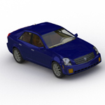 Cadillac CTS (for Wavefront OBJ)